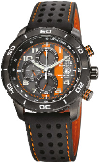 Citizen watch Orange and Black